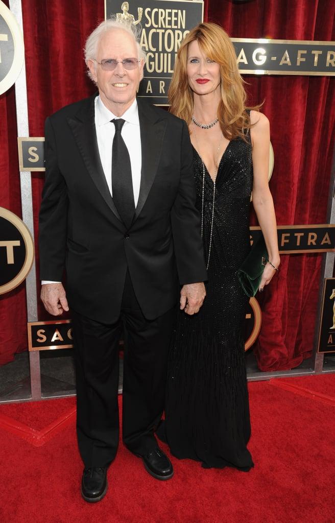 Laura and Bruce Dern arrived together for the SAG Awards.
