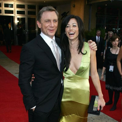 Daniel Craig and Satsuki Mitchell at the Sydney Premiere of Quantum of Solace