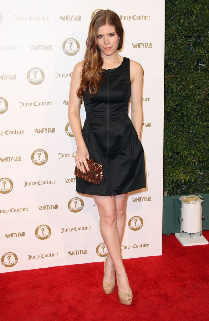 Kate Mara attended a Vanity Fair and Juicy Couture bash in LA.