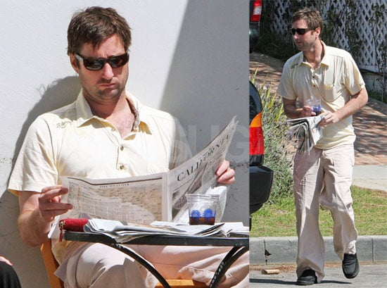 Luke Wilson Is Always Ready For a Round of Golf
