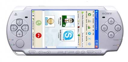Skype coming to PSP