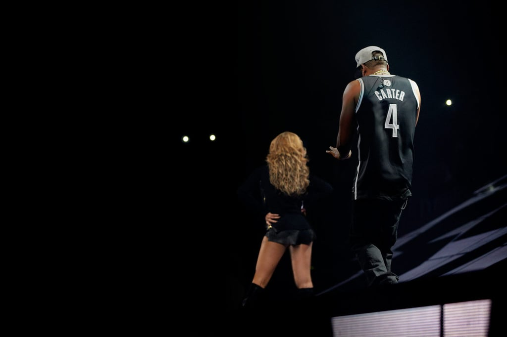Beyoncé Helps Jay-Z Close Out His Big Barclays Debut
