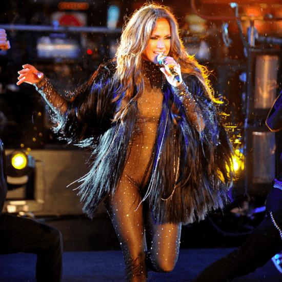 Jennifer Lopez's 2010 New Year's Eve Performance Video