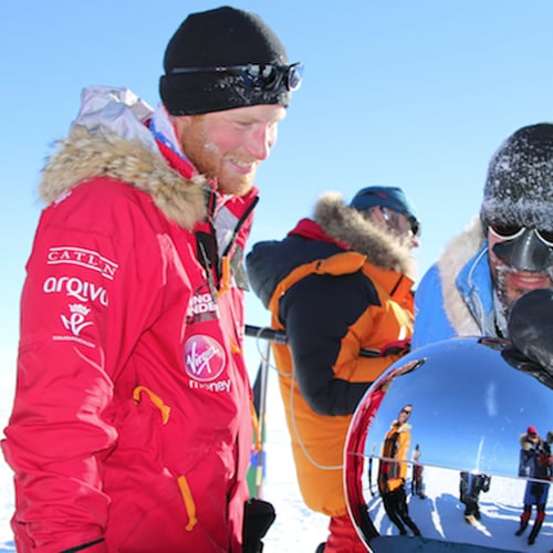 Prince Harry at the South Pole | Picture