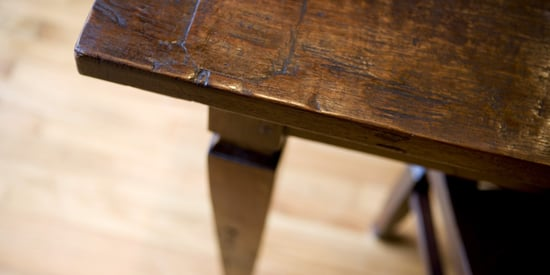 The Bizarre But Amazing Way To Remove Scratches From Wood Furniture