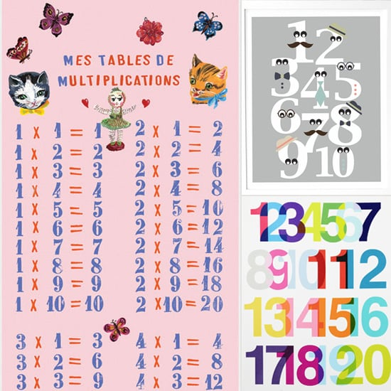 7 Cute Prints to Turn Your Kid Into a Numbers Whiz!