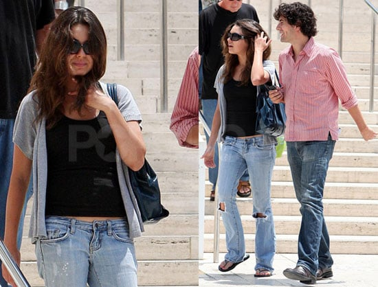 Photos of Mila Kunis at the Getty Center