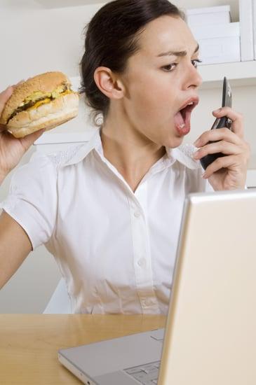 Office Lunch Break Habits