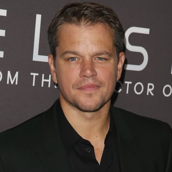 Matt Damon on Good Morning America 2014