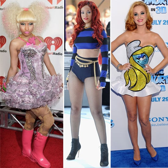 Outrageous Celebrity Style 2011