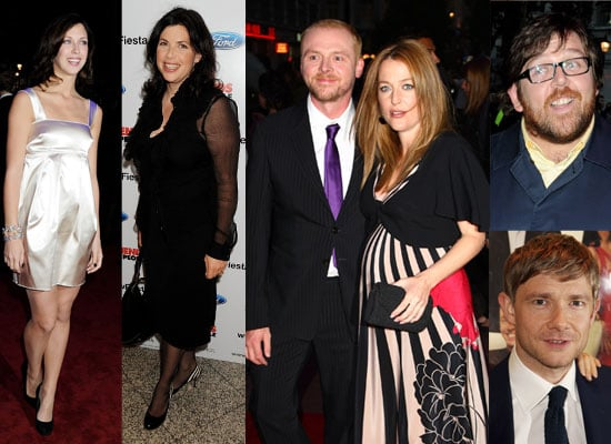 Photos Of Simon Pegg, Gillian Anderson, Margo Stilley and others at London Premiere Of How To Lose Friends And Influence People