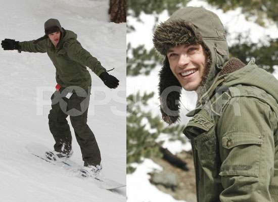 Photos of Kellan Lutz Snowboarding, Kellan Lutz to Marry Mandy Moore in New Film