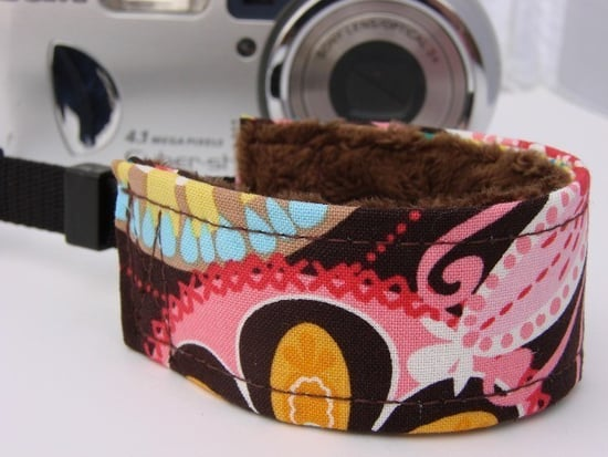 Fur-Lined Camera Strap Cover For Sale From Etsy