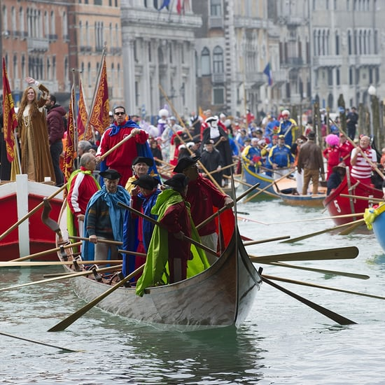 Carnival on the Grand Canal in Italy 2014 | Pictures