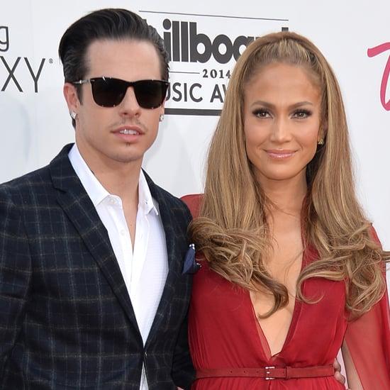 Jennifer Lopez and Casper Smart Split
