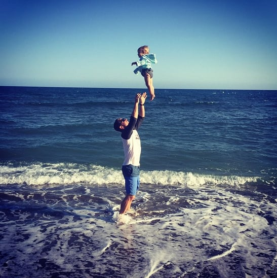 Stephen-tossed-his-daughter-air-when-were-beach