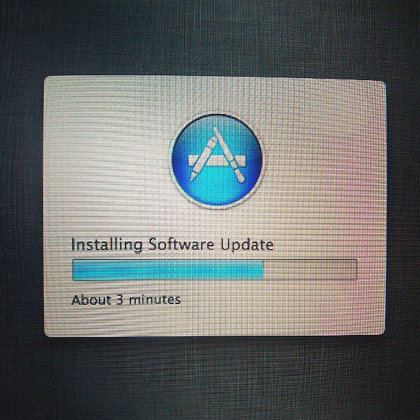 Don't click away — perform those computer system updates!  Source: Instagram user jaren134