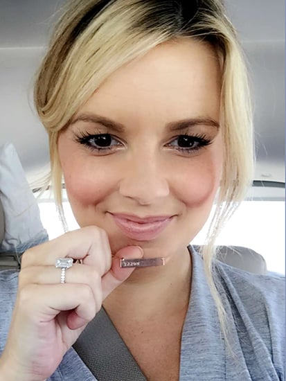 Ali Fedotowsky Shows Off Her Sweet Push Present from Fiancé Kevin Manno on the Way Home from the Hospital