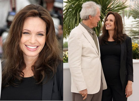Photos of Pregnant Angelina and Clint Eastwood at Cannes