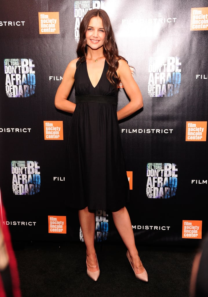 Katie Holmes at her NYC premiere.