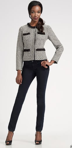 Tweed adds instant class to any pair of jeans. Do it! Shop this look.