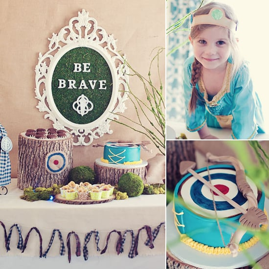 A Brave Birthday Party That Hits the Bull's-Eye!