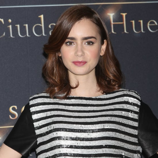 Lily Collins Lancome Collection | 2013