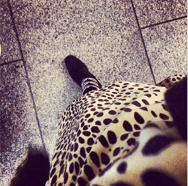 Rita Ora had us seeing spots in this snap. Source: Instagram user ritaora