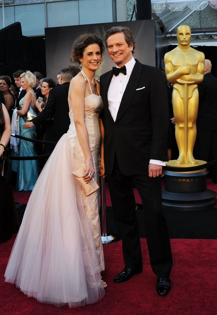 Colin Firth and His Wife Livia Giuggioli Make a Sweet Red-Carpet Pair!