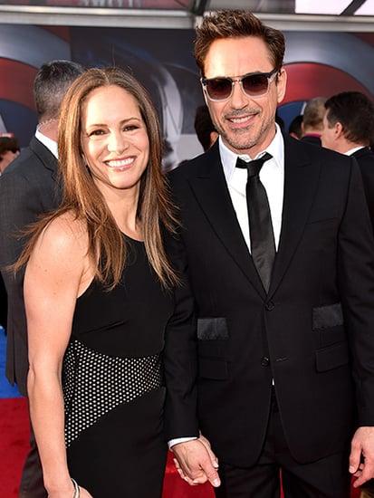 Robert Downey Jr. Attends Captain America: Civil War Premiere With Wife Susan