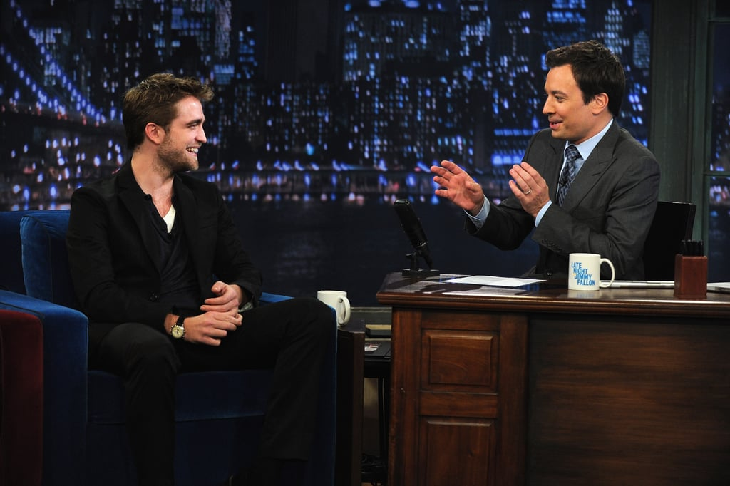Jimmy quizzed Rob on his latest film.