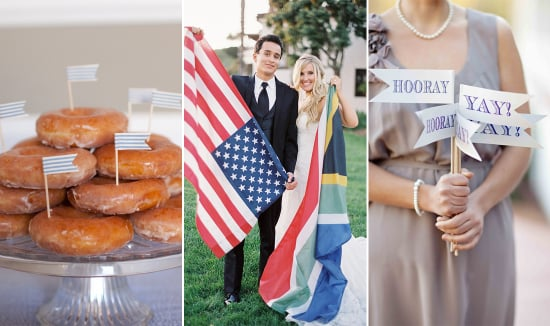 40 Ways to Incorporate Flags in Your Wedding