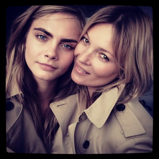 Cara Delevingne and Kate Moss For Burberry Fragrance