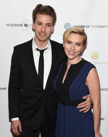 Scarlett Johansson and twin brother Hunter host Hurricane Sandy benefit