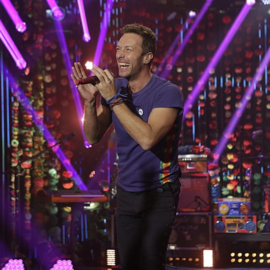 """Coldplay Sings """"Head Full of Dreams"""" on The Late Late Show"""