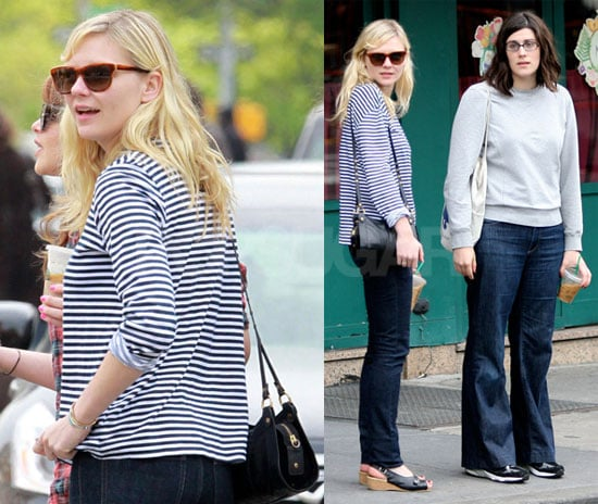 Photos of Kirsten Dunst Out in NYC With Laura and Kate Mulleavy of Rodarte