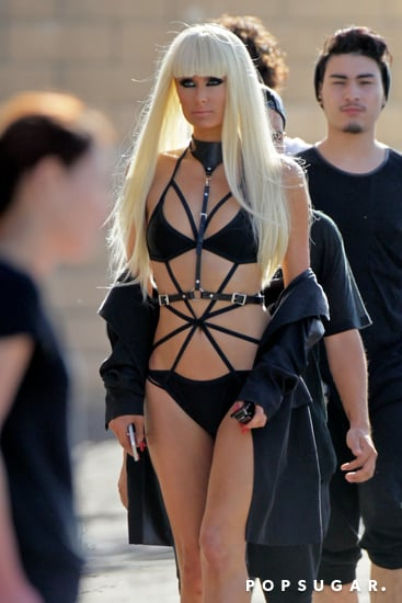 Paris Hilton Can't Show Enough Skin For Her New Music Video