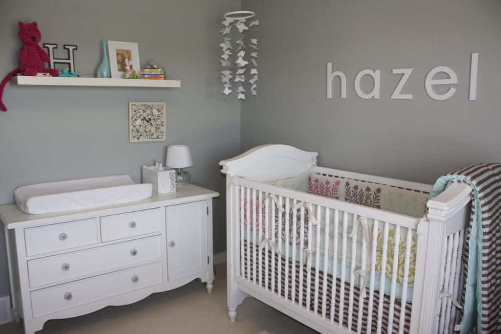 Gray and White Chic Nursery