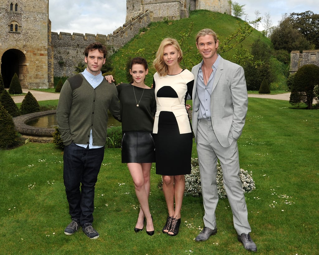 Kristen Stewart and Charlize Theron Get Sexy With Their SWATH Costars