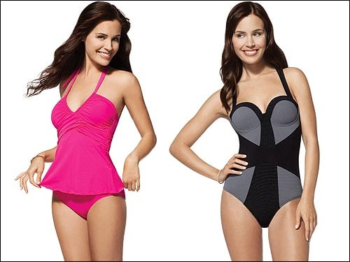 Lil Links: Tone the Postpartum Tummy in a Spanx Swimsuit!