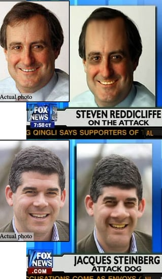 Fox News Gives NY Times Reporters Yellow Teeth, Big Nose
