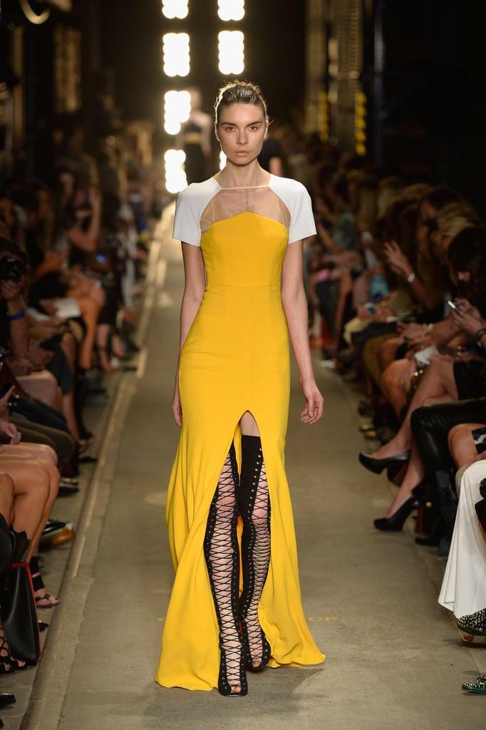 Front Split Skirts