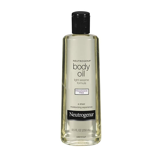 Neutrogena Body Oil Light Sesame Formula ($10) is a fragrance-free cult classic for sensitive skin types. This fast-absorbing oil hydrates and nourishes for soft skin that literally glows.