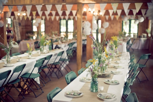 Sweet and Simple Mess Hall Reception
