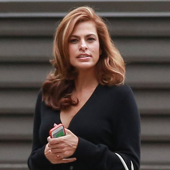 Eva Mendes Filming Commercial After Giving Birth | Pictures