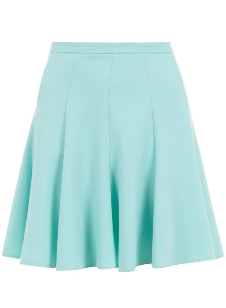 Dorothy Perkins Closet Mint Scuba Skirt