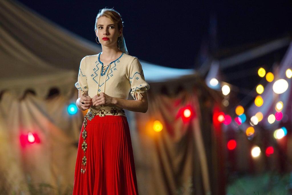 Roberts as Maggie Esmerelda in Freak Show