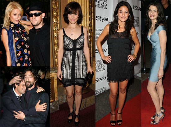Photos of Rachel McAdams, Paris Hilton, Benji Madden, Orlando Bloom, at the Toronto Film Festival