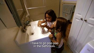 Bathroom privacy.