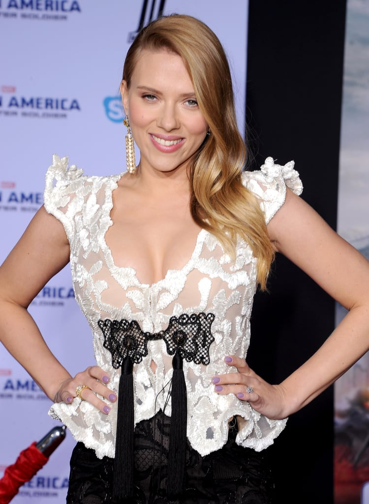 Scarlett Johansson — and Her Pregnancy Glow! — Shut Down Hollywood